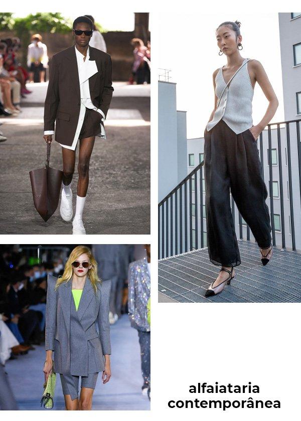 Valentino, Emporio Armani, Balmain - semanas de moda - desfiles - verão - street style - https://stealthelook.com.br