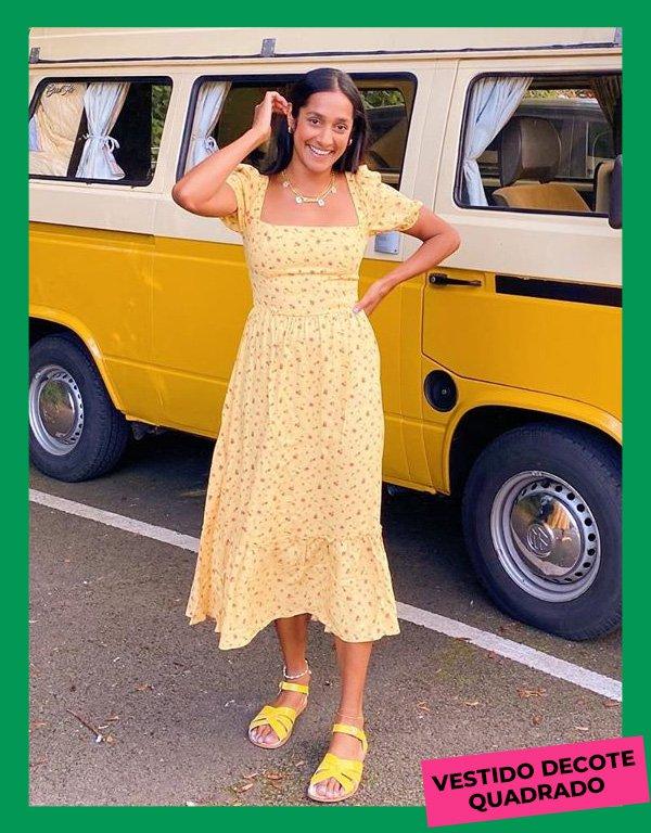 Zeena Shah - modelos de vestidos essenciais - looks de verão - inverno - street style - https://stealthelook.com.br