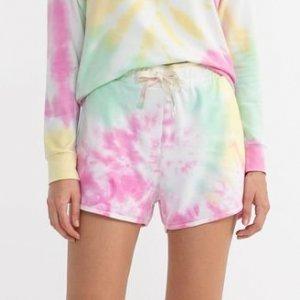 Short Runner Tie Dye com Bolsos Comfy