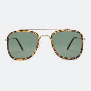 Óculos de Sol Feminino com Ponte Dupla