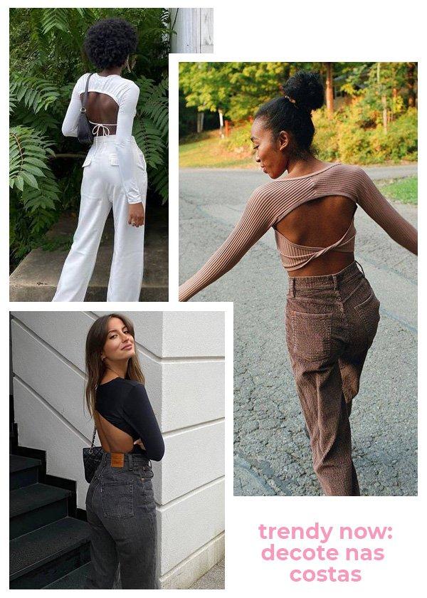 Chanel Mckinsie, Carolina Nashtai - novo decote - decote nas costas - verão - street style - https://stealthelook.com.br