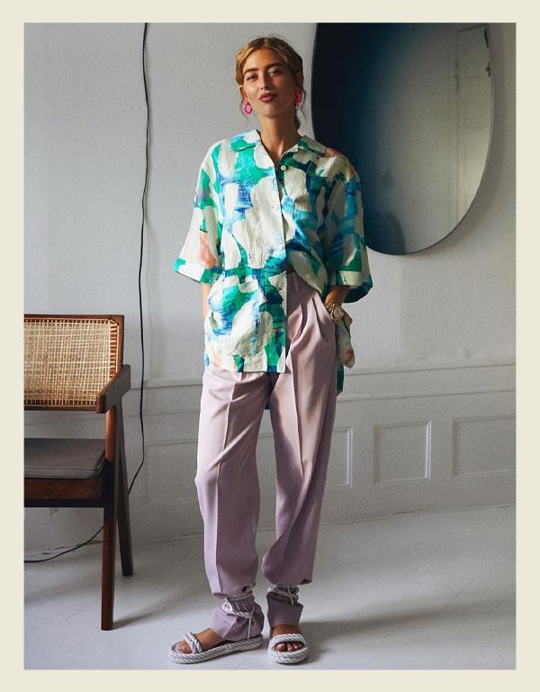 Emili Sindlev - modelo de sandália do verão - sandália de corda rope sandal - verão - street style - https://stealthelook.com.br