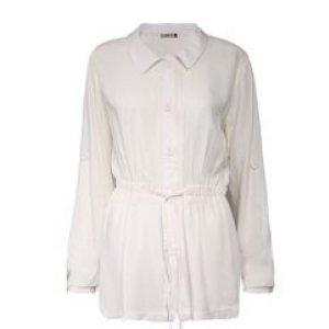 Camisa Parka Feminina Off White Tamanho P