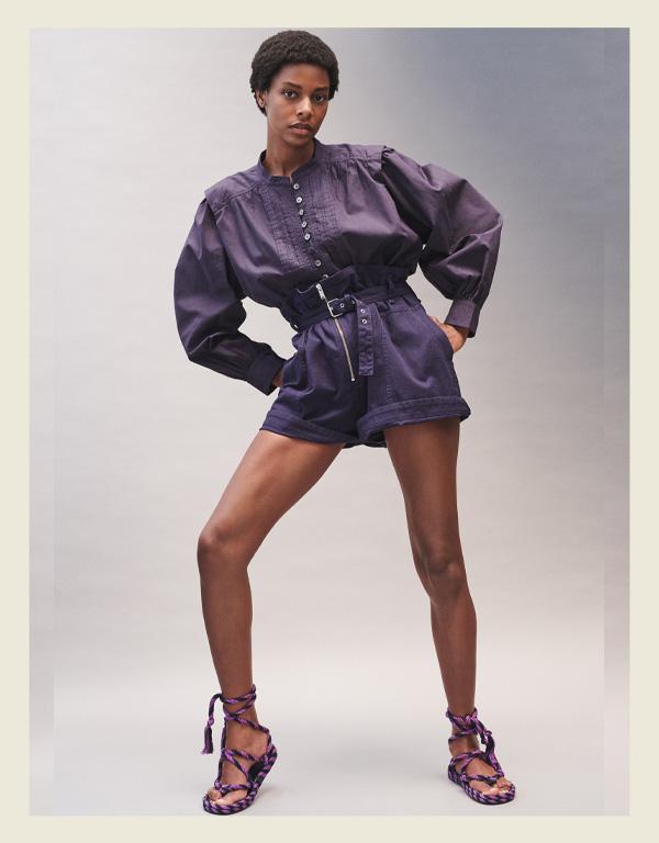 Isabel Marant - modelo de sandália do verão - sandália de corda rope sandal - verão - street style - https://stealthelook.com.br