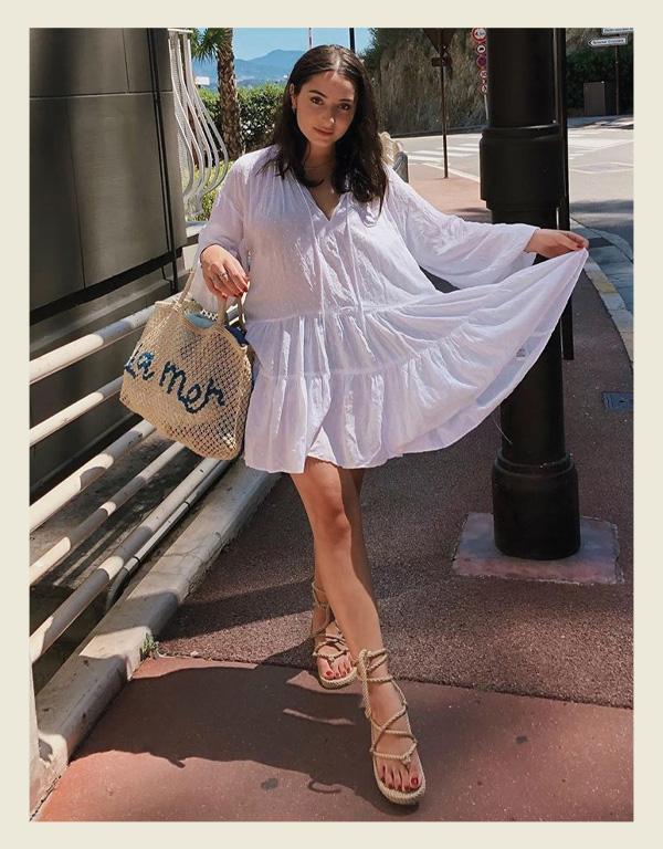 Aida - modelo de sandália do verão - sandália de corda rope sandal - verão - street style - https://stealthelook.com.br