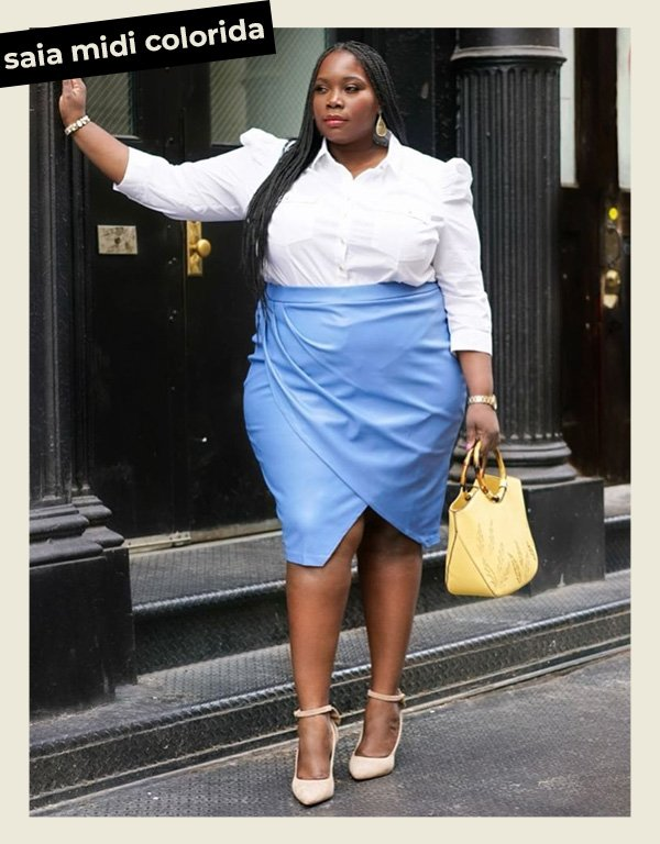 Alissa Stylish Curves - look social - office look - verão - street style - https://stealthelook.com.br