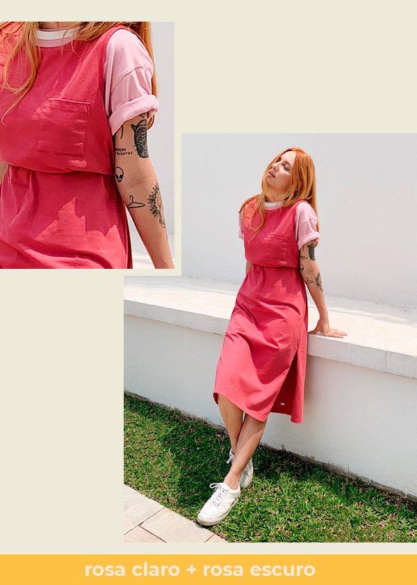 Aline Santos - vestido - colorblock - verão - em-casa - https://stealthelook.com.br
