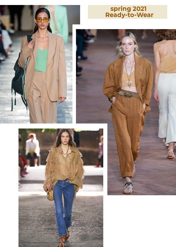 Boss, Alberta Ferretti, Valentino - tons terrosos no verão - looks de verão - verão - street style - https://stealthelook.com.br