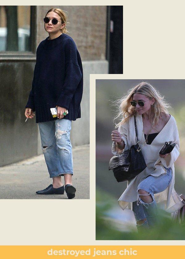 Ashley Olsen and Mary-Kate Olsen - gêmeas Olsen - olsen twins - verão - street style - https://stealthelook.com.br