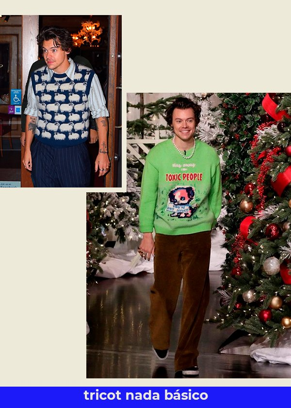Harry Styles - Tricot - estilo do harry styles - Primavera - Street Style - https://stealthelook.com.br