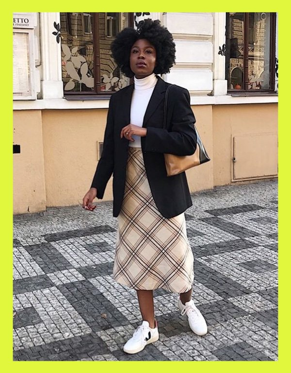 Eunice fashionenth - tênis casual - vert veja shoes - verão - street style - https://stealthelook.com.br