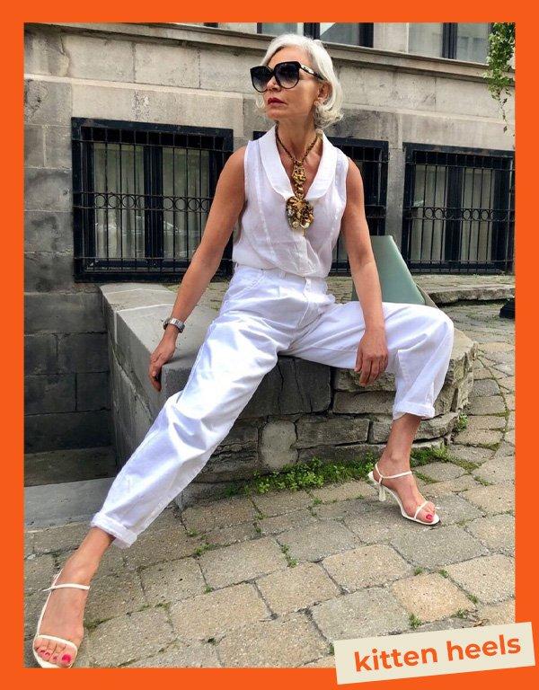 Grece Ghanem - sandálias de salto - sandálias kitten heels - verão - street style - https://stealthelook.com.br