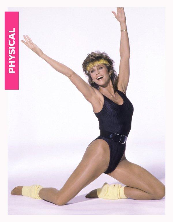 jane fonda - anos 80 - moda anos 80 - verão - street style - https://stealthelook.com.br