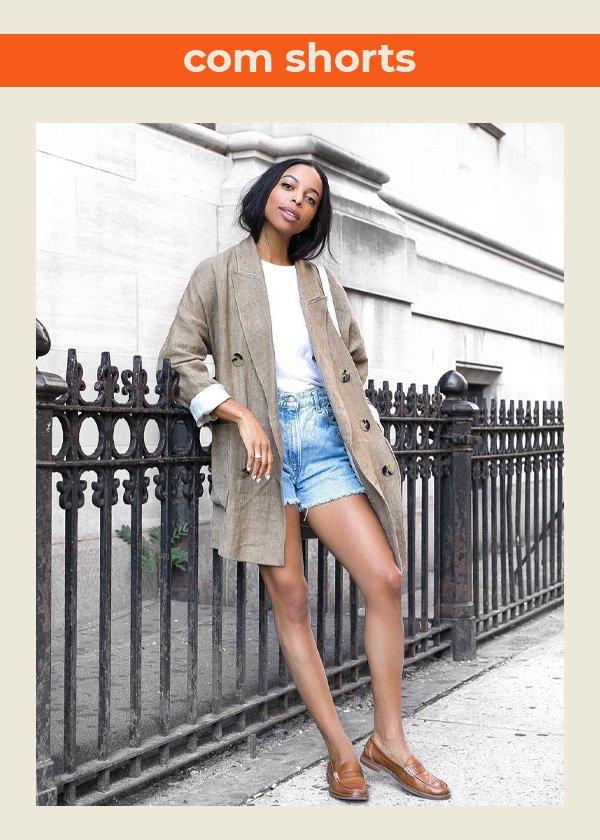 Janelle Marie Lloyd - blazer no verão - looks com blazer - verão - street style - https://stealthelook.com.br