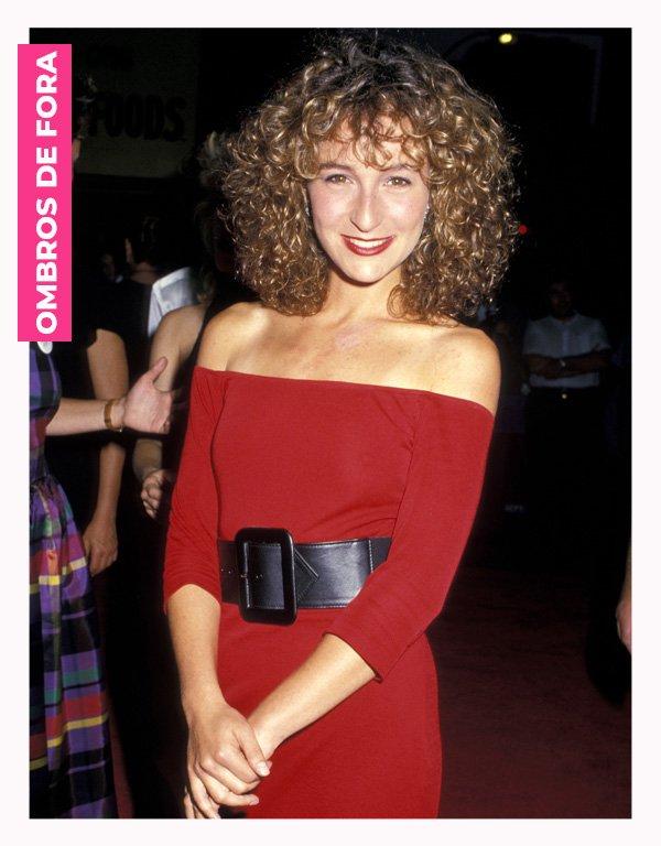 Jennifer Grey - anos 80 - moda anos 80 - verão - street style - https://stealthelook.com.br