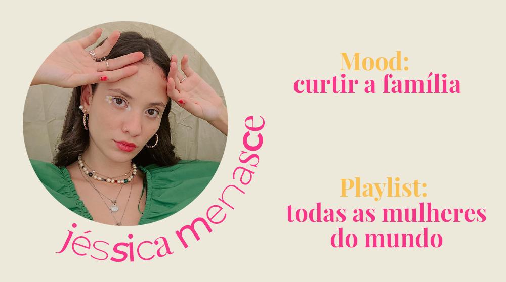 Jéssica Menasce - playlists do spotify -     -     -      - https://stealthelook.com.br