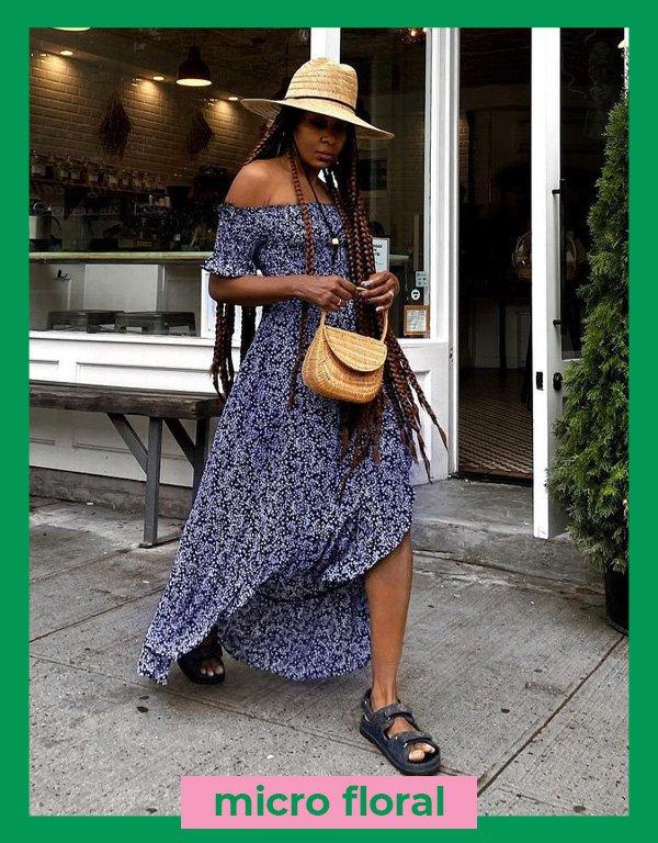 Karen Blanchard - vestidos estampados - estampas - verão - street style - https://stealthelook.com.br