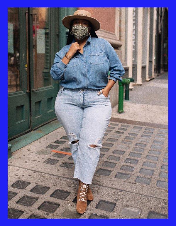Kelly Augustine - modelo de calça - calça reta - verão - street style - https://stealthelook.com.br