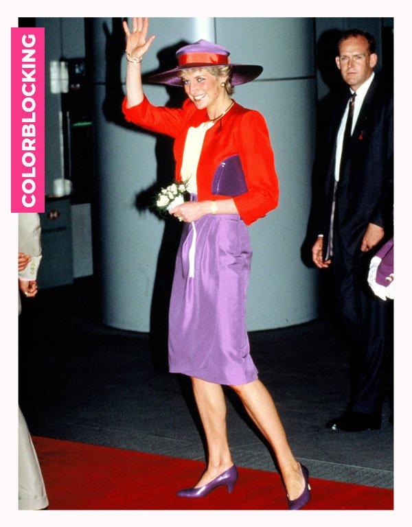 Lady Diana - anos 80 - moda anos 80 - verão - street style - https://stealthelook.com.br