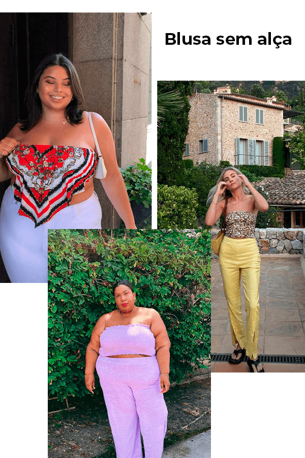 Joanna Pincerato, Kellie Brown, Lucy Williams - Top - Top - verão - street style  - https://stealthelook.com.br