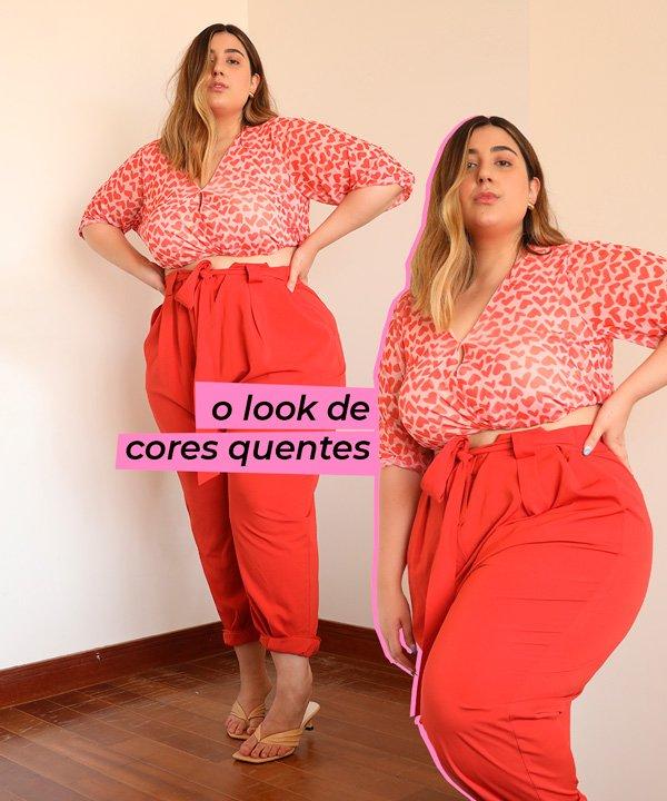 Carla M. Ortiz - calça-alfaiataria - cores-quentes - verão - em-casa - https://stealthelook.com.br