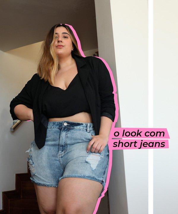 Carla M. Ortiz - short-jeans - jeans - verão - em-casa - https://stealthelook.com.br