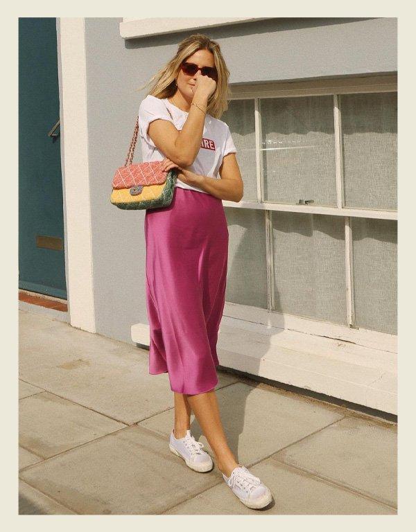 Lucy Williams - tênis branco - sapatos - verão - street style - https://stealthelook.com.br