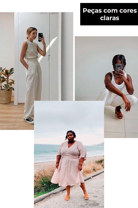 It girls - Cores claras - Verão - Verão - Street Style - https://stealthelook.com.br