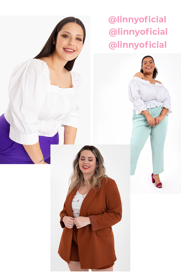 Linny Oficial - Plus size - Plus size - verão - street style  - https://stealthelook.com.br