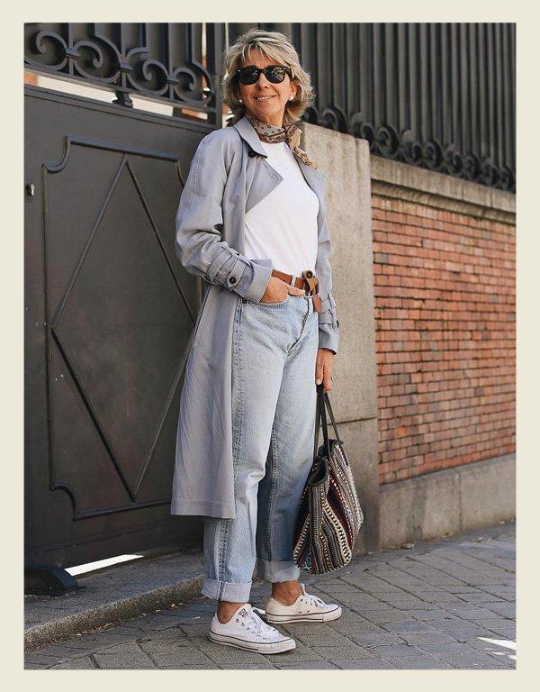 Margarita Argüelles - tênis branco - sapatos - verão - street style - https://stealthelook.com.br