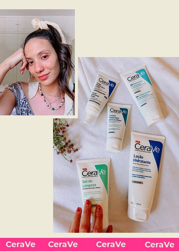 It girls - CeraVe - Skincare de farmácia - Primavera - Em casa - https://stealthelook.com.br
