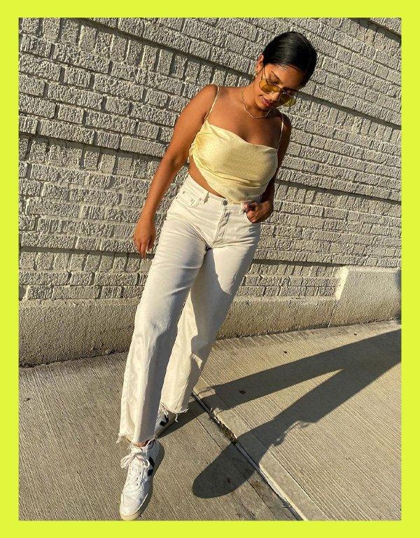 Niki Mallikarachi - tênis casual - vert veja shoes - verão - street style - https://stealthelook.com.br