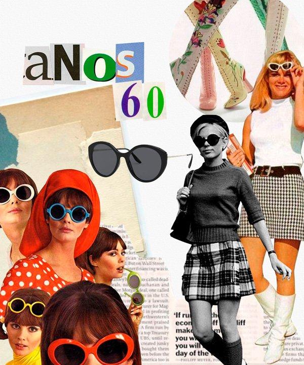 colagem - óculos-de-sol - vintage - verão - colagem - https://stealthelook.com.br