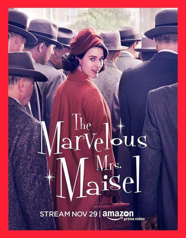 It girls - The Marvelous Mrs. Maisel - Amazon Prime - Primavera - Em casa - https://stealthelook.com.br