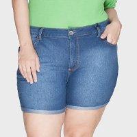 Shorts Barra Virada Plus Size