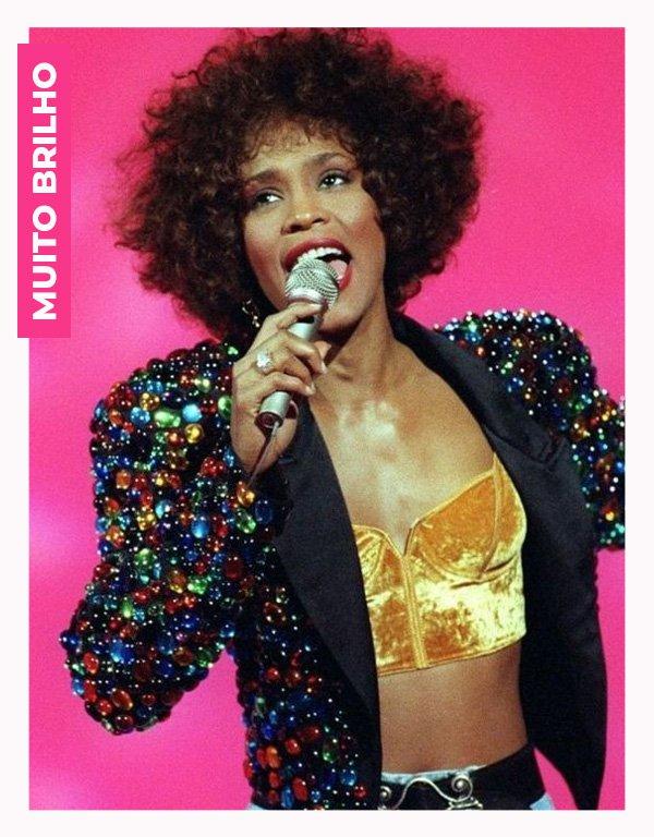 Whitney Houston - anos 80 - moda anos 80 - verão - street style - https://stealthelook.com.br