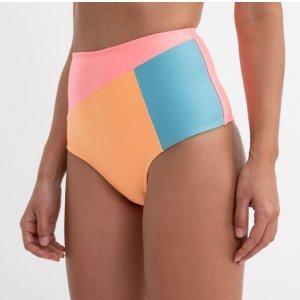 Biquíni Calcinha Hot Pants com Recortes Neon