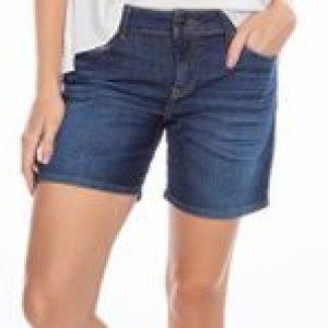 Bermuda Feminina Jeans Stone Tamanho 36
