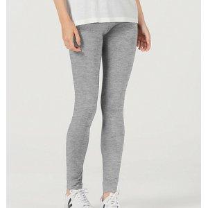 Calça Legging Básica Feminina Em Malha Com Elastano