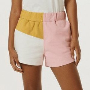 Shorts Feminino Color Block