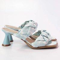 Sandália Tie Dye Azul Branco