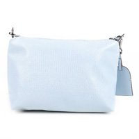 Bolsa Couro Shoestock Mini Bag Lezard Transversal Média Feminina - Azul Claro