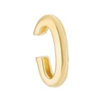 Piercing De Encaixe Clair Tubo Folheado A Ouro 18k