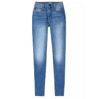 Calça Jeans Feminina Super Skinny Com Elastano Soft Touch - Azul