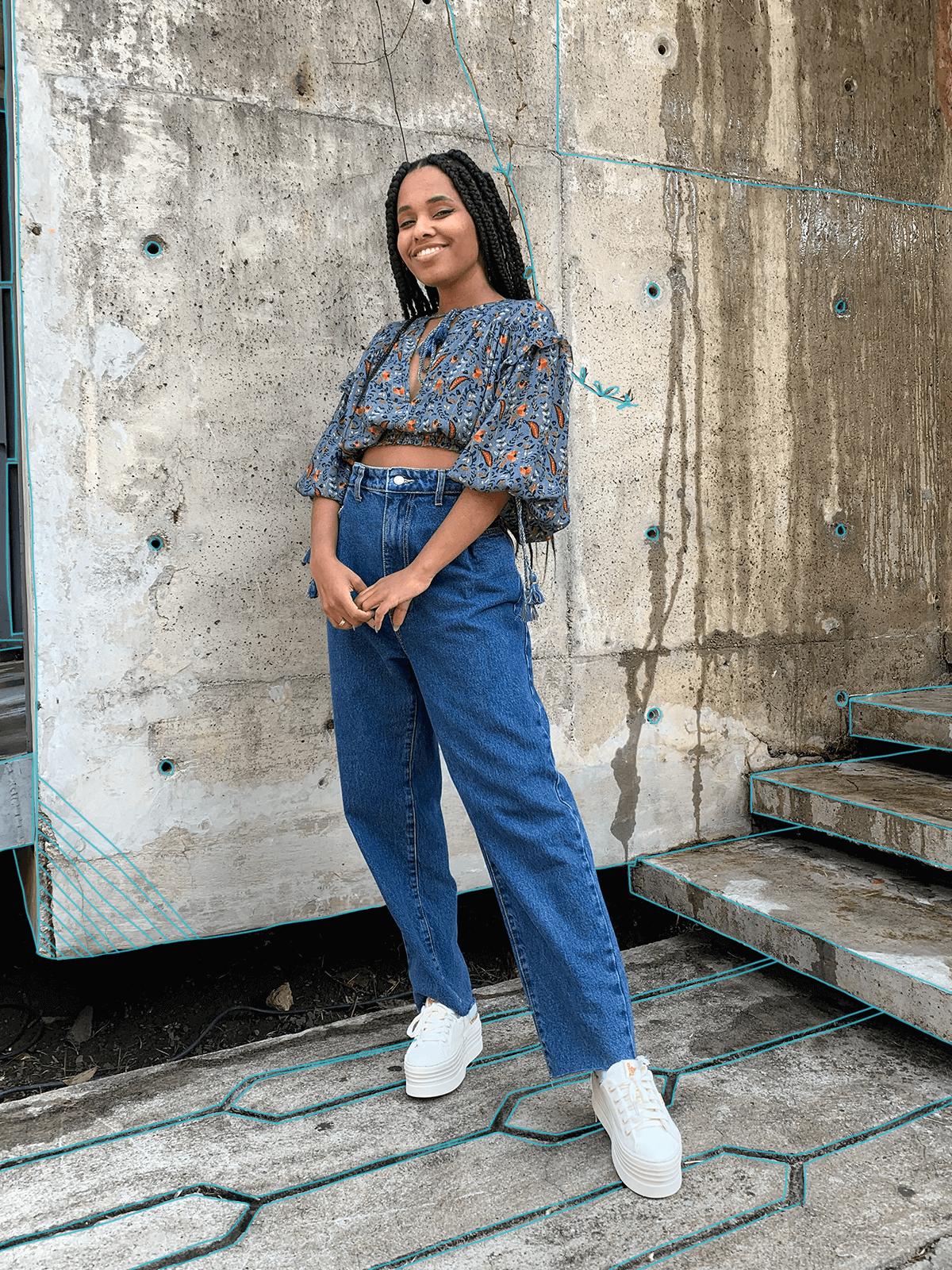 Claudiana Ribeiro - como usar estampas - farm - verão - em casa - https://stealthelook.com.br