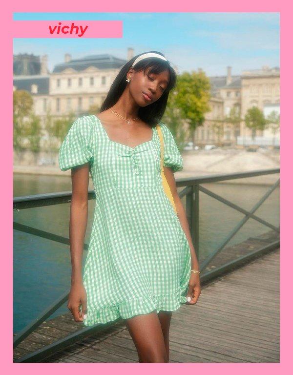 It girls - Vichy - Verão 2021 - Verão - Street Style - https://stealthelook.com.br