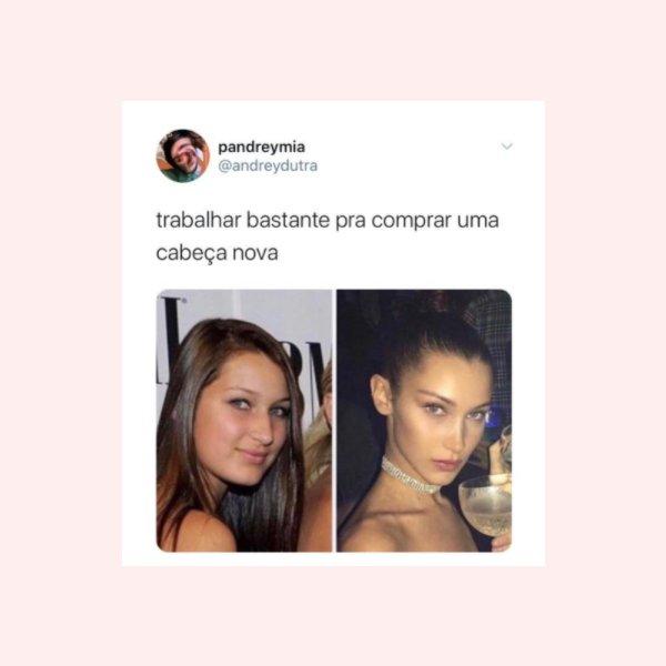 Bella Hadid - tweet - glow up - verão - twitter - https://stealthelook.com.br