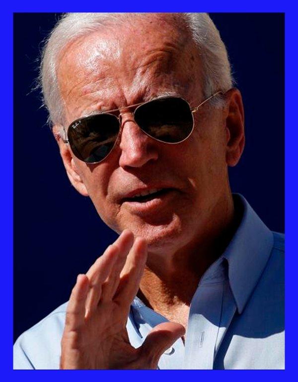 Joe Biden - Óculos de sol - Joe Biden - Primavera - Street Style - https://stealthelook.com.br