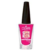 Esmalte Colorama - Efeito Gel 10 dias Passo 1 Tons de Rosa - Rosa da vez