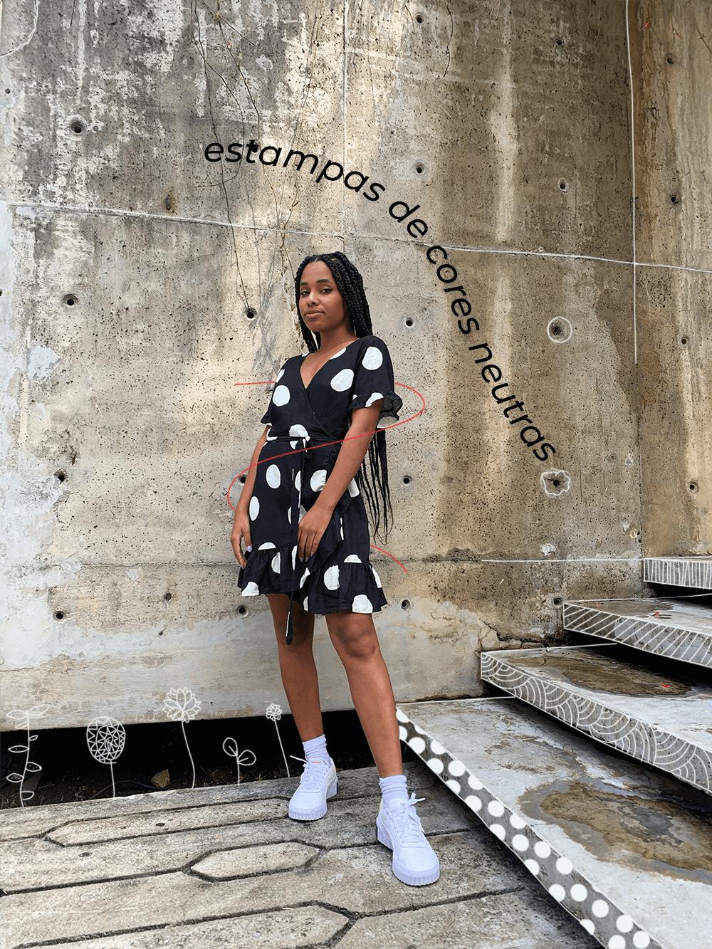 Claudiana Ribeiro - como usar estampas - estampas farm - verão - street style - https://stealthelook.com.br